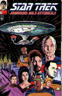 Hq Star Trek Jornada Nas Estrelas Nº 2 - Abril Jovem - 1991