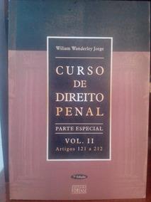 Livro Curso De Direito Penal Vol 2: Parte Especial