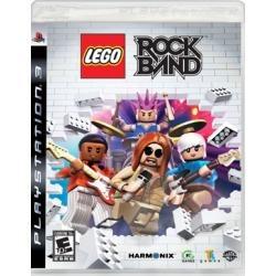 Jogo Midia Fisica Musica Lego Rock Band Playstation Ps3