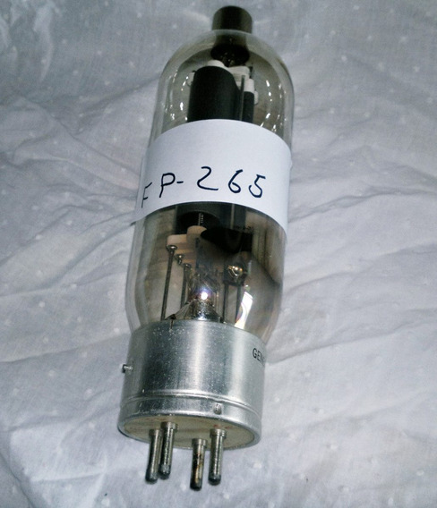 1- Excelent E Rara Valvula Eletrônica Fp -2657. 810 Etc