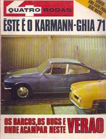 Quatro Rodas Nº 114: Karmann-guia - Peter Sellers - Barcos