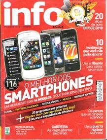 Revista Info Exame - O Melhor Dos Smartphones Comparativo