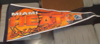 Flamula Nba Miami Heat Sprite Refrigeirante Oficial Da Nba