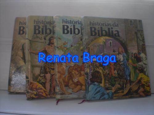 Livros Histórias Da Bíblia Em 4 Volumes