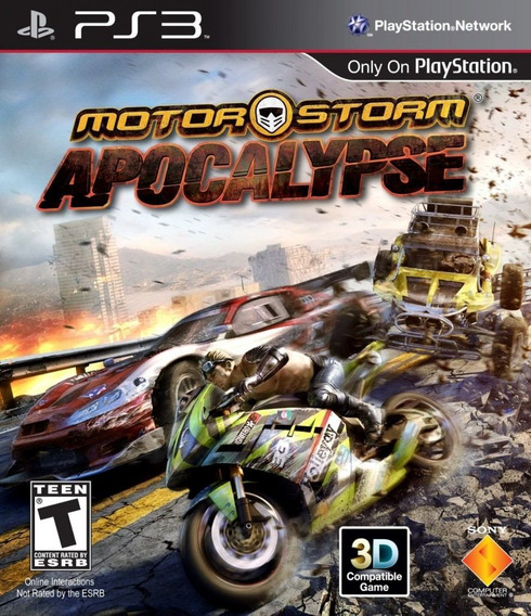 Motorstorm Apocalypse (3d) { Ps3 }