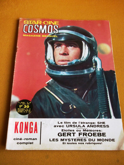 Ediex Star Cine Cosmos Aventuras Konga Sci-fi Espaço Sideral