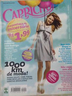 Revista Capricho N. 1000 Rodrigo Santoro