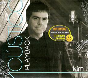 Cd Kim Acústico Play Back Vocal Banda Catedral Novo Lacrado