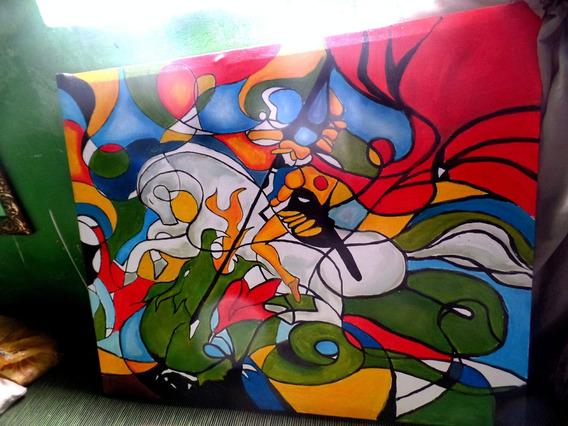 Pintura Sao Jorge