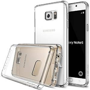 Galaxy Note 5 Case, Ringke [fusión] Crystal Clear Pc Volver