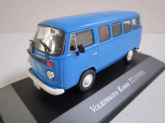 Vw Kombi T2 1976 Ixo 1:43 Carros Inesquecíveis Miniaturas