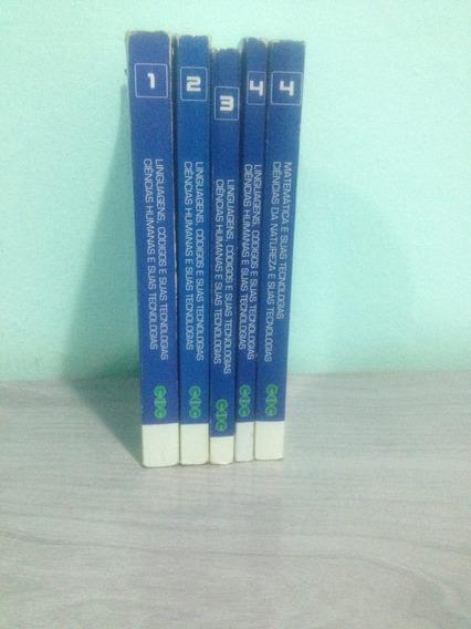 Livros Didáticos Coc 1 Série Ensino Médio, Conservados