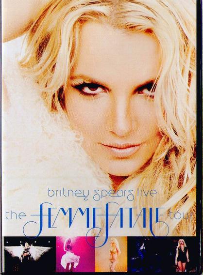 Dvd Britney Spears Live - The Femme Fatale Tour - Novo***
