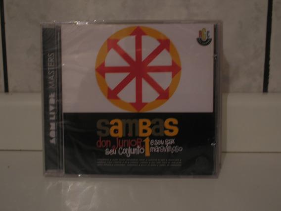 Cd Sambas - Don Junior, Seu Conjunto E Seu Sax Maravilhoso