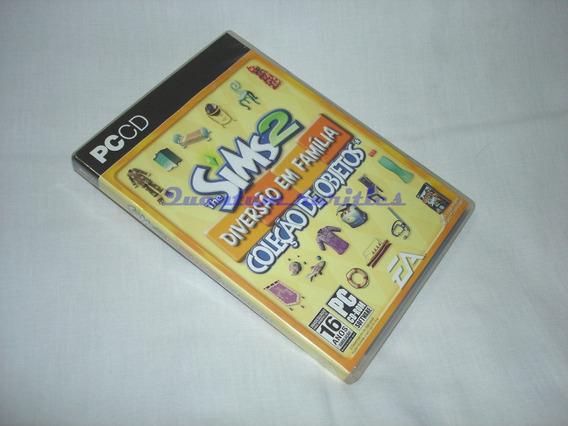 Cdrom The Sims 2 Diversao Familia Coleçao De Objetos Ea Usad