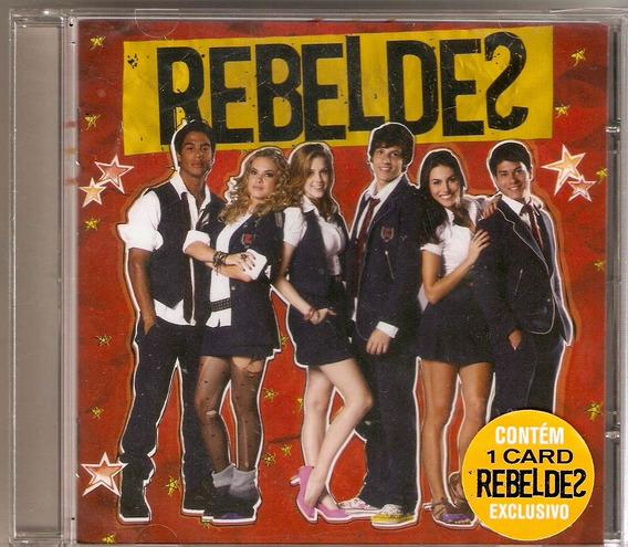 Cd Rebeldes - Trilha Sonora Da Novela - Novo***