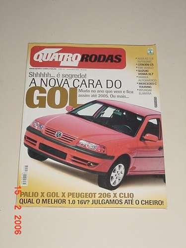 * Revista Quatro Rodas - A Nova Cara Do Gol - Nov 2001 *