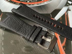 Pulseira Em Couro Para Relógios Diesel Dz1273 Original!