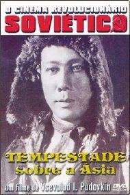 Dvd Tempestade Sobre A Ásia, De Vsevold Pudovkin -  1928 +