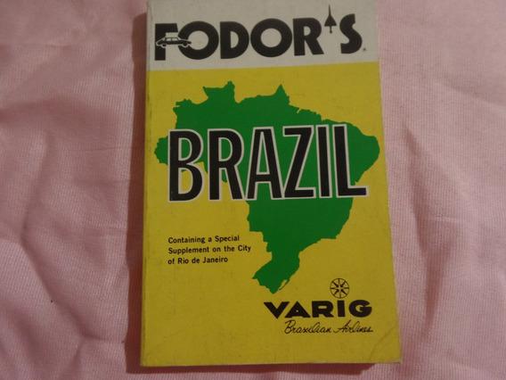 Livro Fodors Guia Varig Antigo Inglês