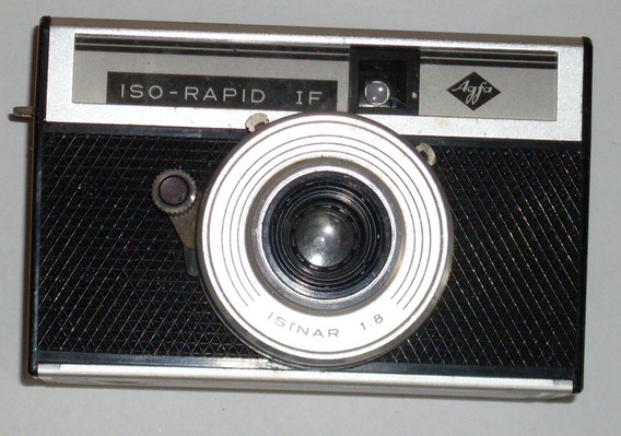Camera Maquina Fotografica Antiga - Agfa - Iso Rapid
