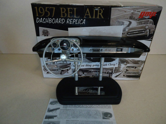 Miniatura Painel Chevy Bel Air 1957 1/6 Gmp