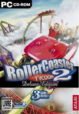 Pc Rollercoaster Tycoon 2 Deluxe Edition - Original- Lacrado