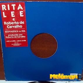 Rita Lee E Roberto De Carvalho 1988 Independência E Vida Lp