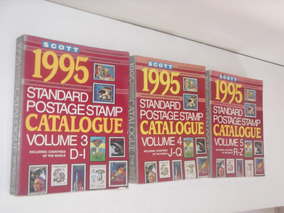 Catalogo De Selos Scott - 1995