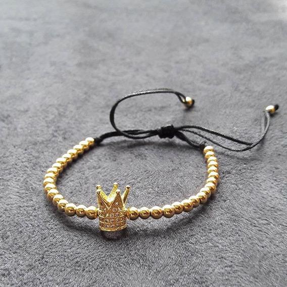Hot Sale Reloj Joyeria Brazalete The King N Queen Chapa 18k