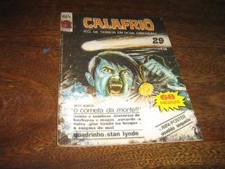 Calafrio H Q De Terror Nº 29 Editora D-arte Ano: 1984
