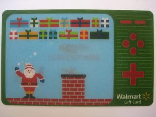 Cartão Presente Sem Crédito Para Colecionar - Papai Noel