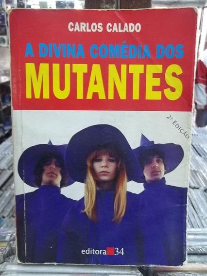 A Divina Comedia Dos Mutantes Livro Raro