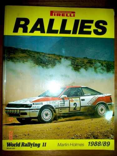 Anuario Rallies 1988 / 89 Fia Rally Fisa World Rali Rallye