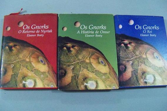 * 3 Livros Os Gnorks Eleanor Beaty Trilogia Completa