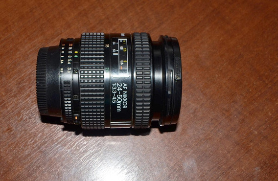 Lente Af Nikkor 24-50mm Para Nikon