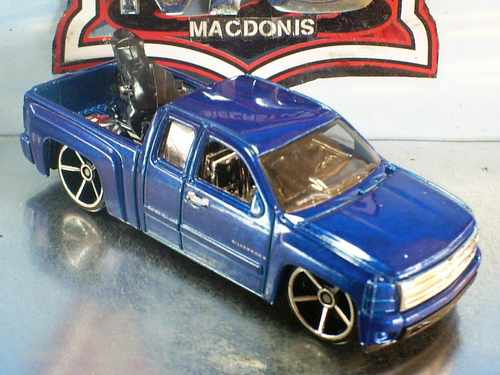 Hot Wheels Chevy Silverado Pickup Fe 20/2007 Lacrado !