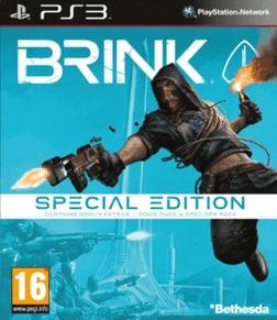 Ps3 - Brink - Special Edition - Lacrado