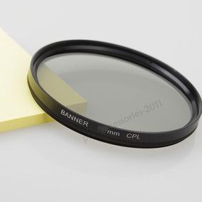 Filtro Polarizador Circular Cpl Objetiva Para Lente 58mm