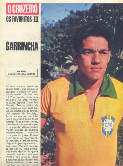 O Cruzeiro N° 35 - 1966 - Seleção / Nélson Gonçalves /