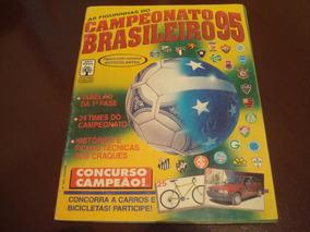 Álbum Campeonato Brasileiro 1995 - Completo - Abril/panini