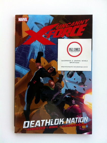 Uncanny X-force Vol. 2 Tpb (2012) Deathlok Nation Marvel