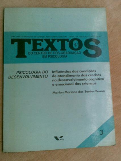 Livro Psicologia Do Desenvolvimento Textos 3 Marion Merlone