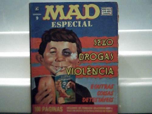 Revista Mad Especial 9 / Editora Record / 100 Pgs.março 1991