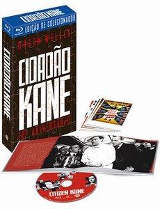 Blu-ray Cidadão Kane Ed De 70o Aniv Gift Set + Livro + Cards