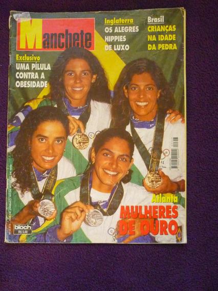 Revista Manchete - Atlanta Mulheres De Ouro