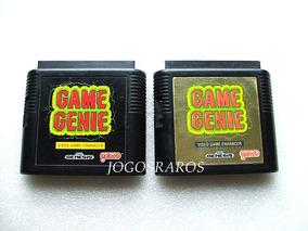 Mega Drive: Game Genie + Códigos Para Diversos Jogos! Raro!