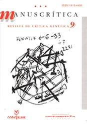 Manuscrítica - Revista De Crítica Genética 9
