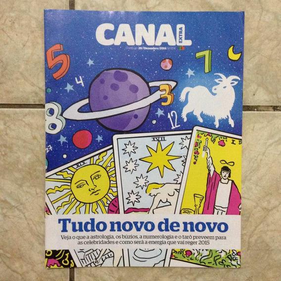 Revista Canal Extra 874 28.12.2014 Astrologia Búzios Tarô