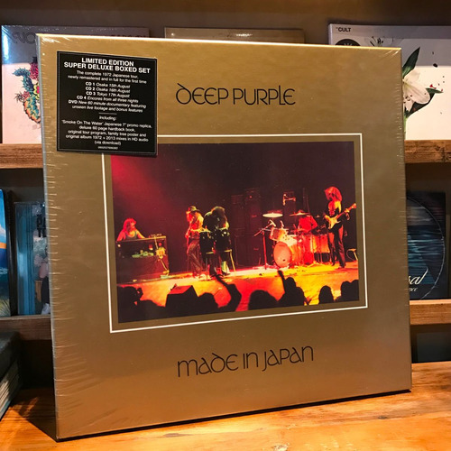 Deep Purple Made In Japan Super Deluxe Box Set